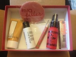 Birchbox beauty products for January 2016 Birchbox Vs Glossybox