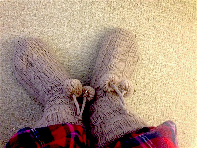 cozy, snuggly winter, slipper socks, January favourites