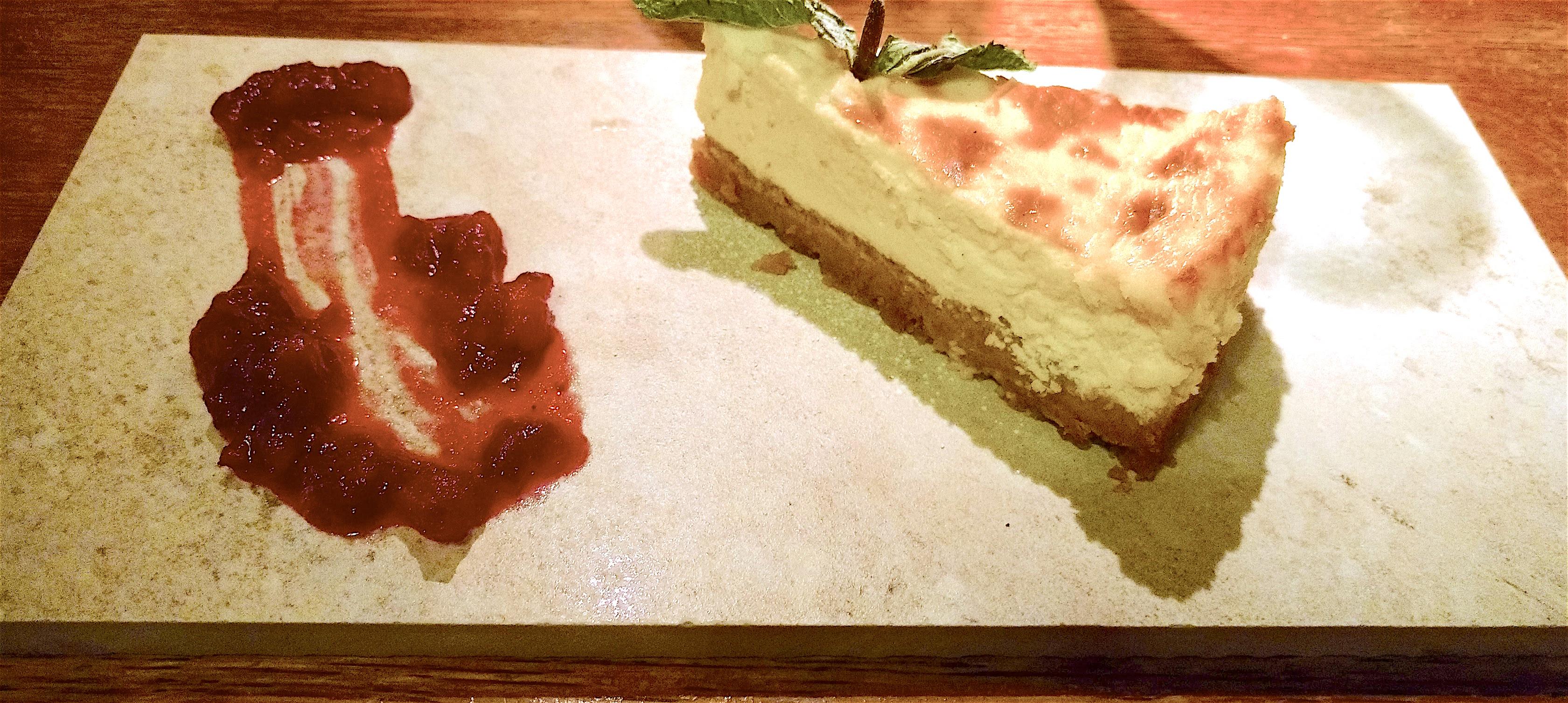 five bells cheesecake