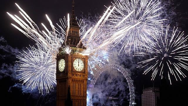 New Year from London 2016