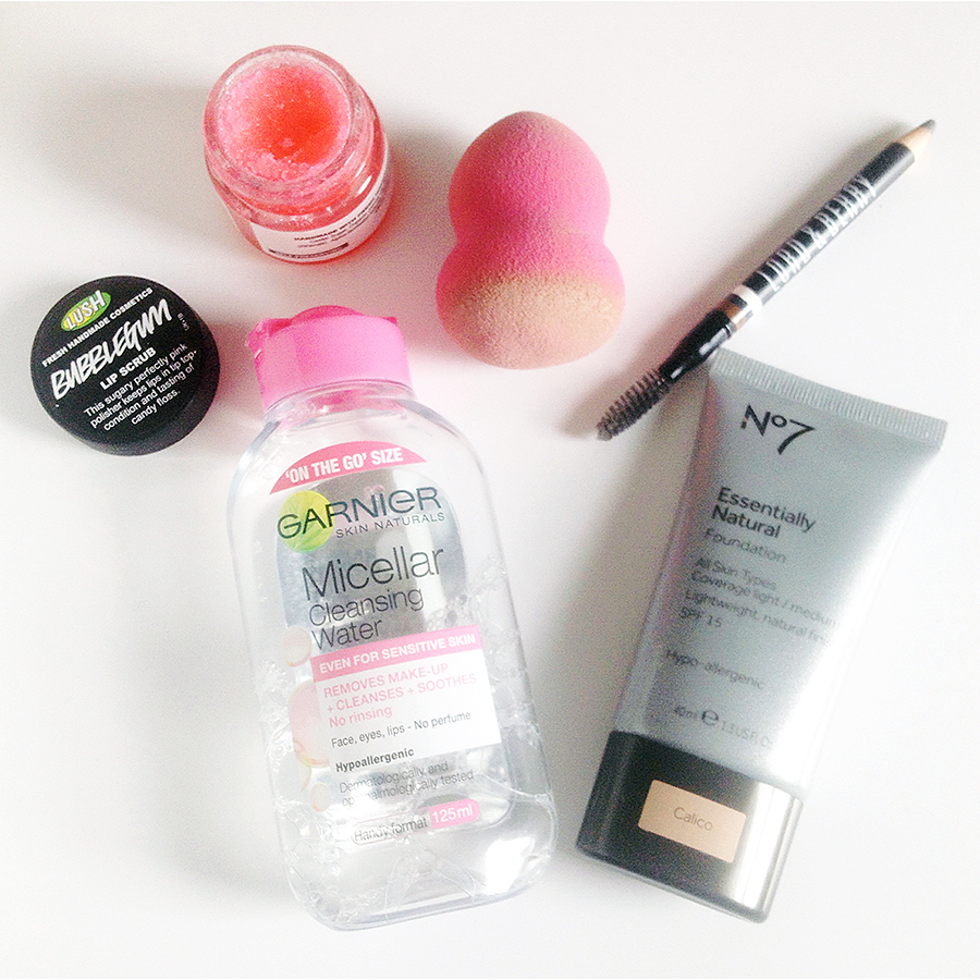 image of beauty favourites for march and april