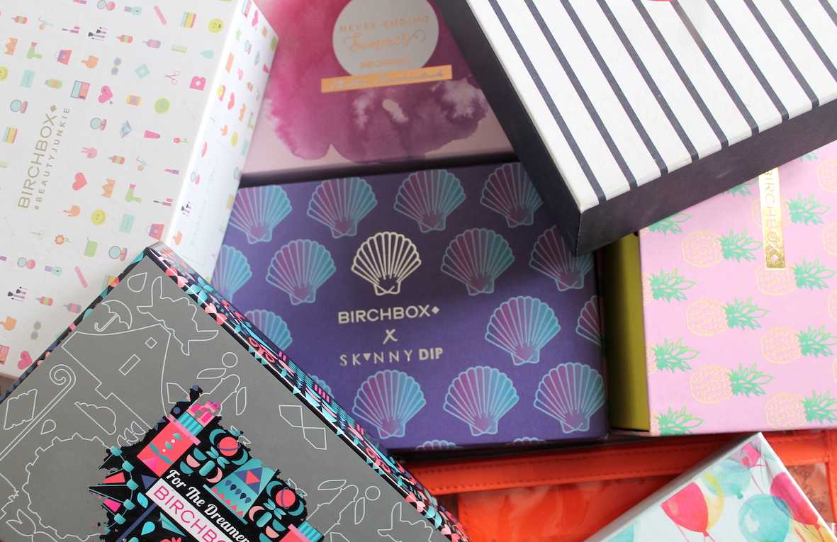 images showing various birchbox designs