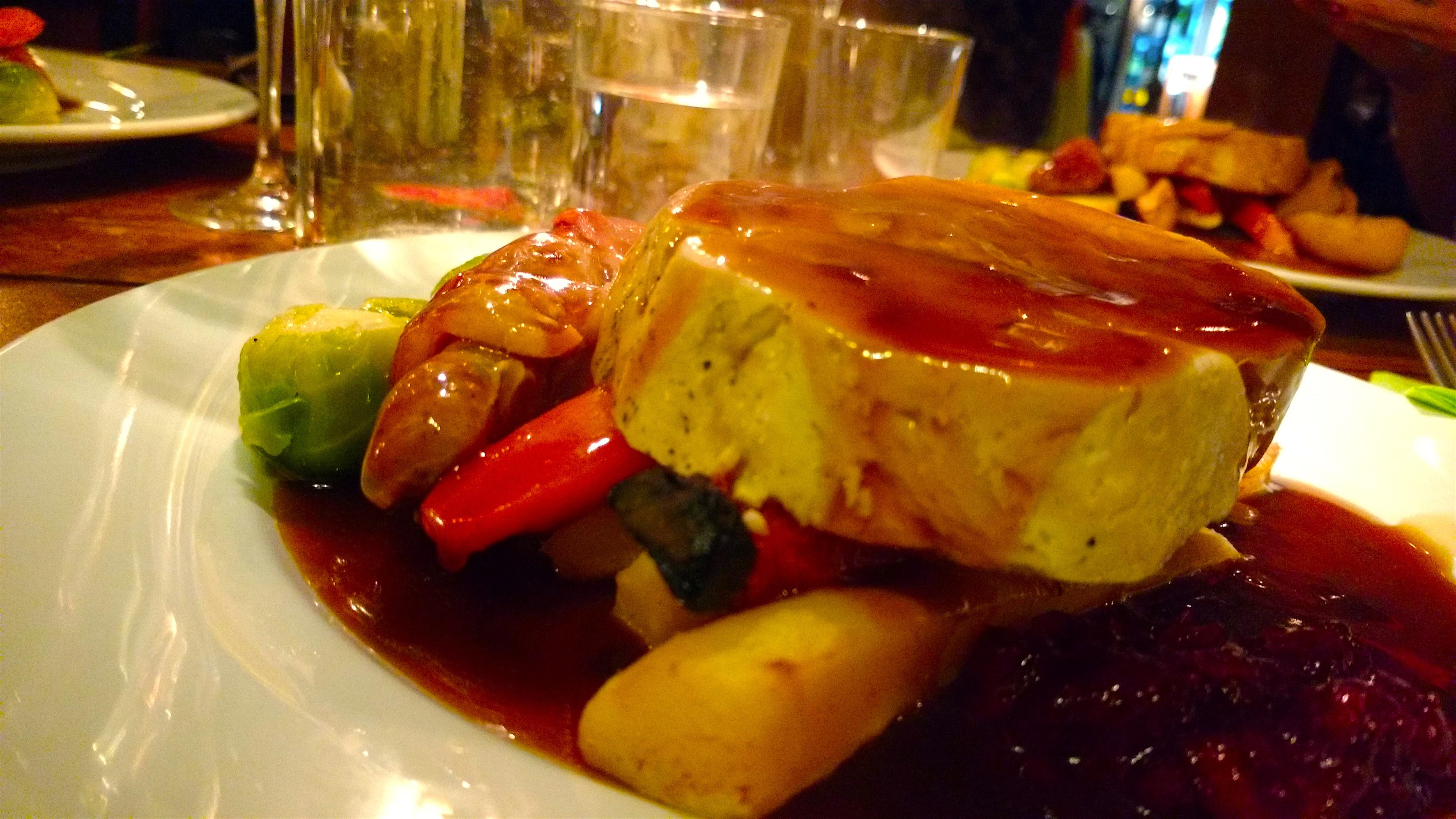 five bells christmas dinner of turkey breast