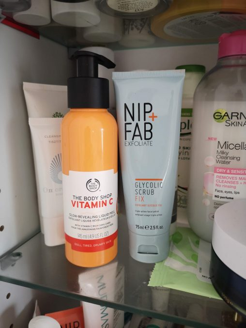 Picture of The Body Shop Vitamin C Peel and Nip+Fab Exfoliate