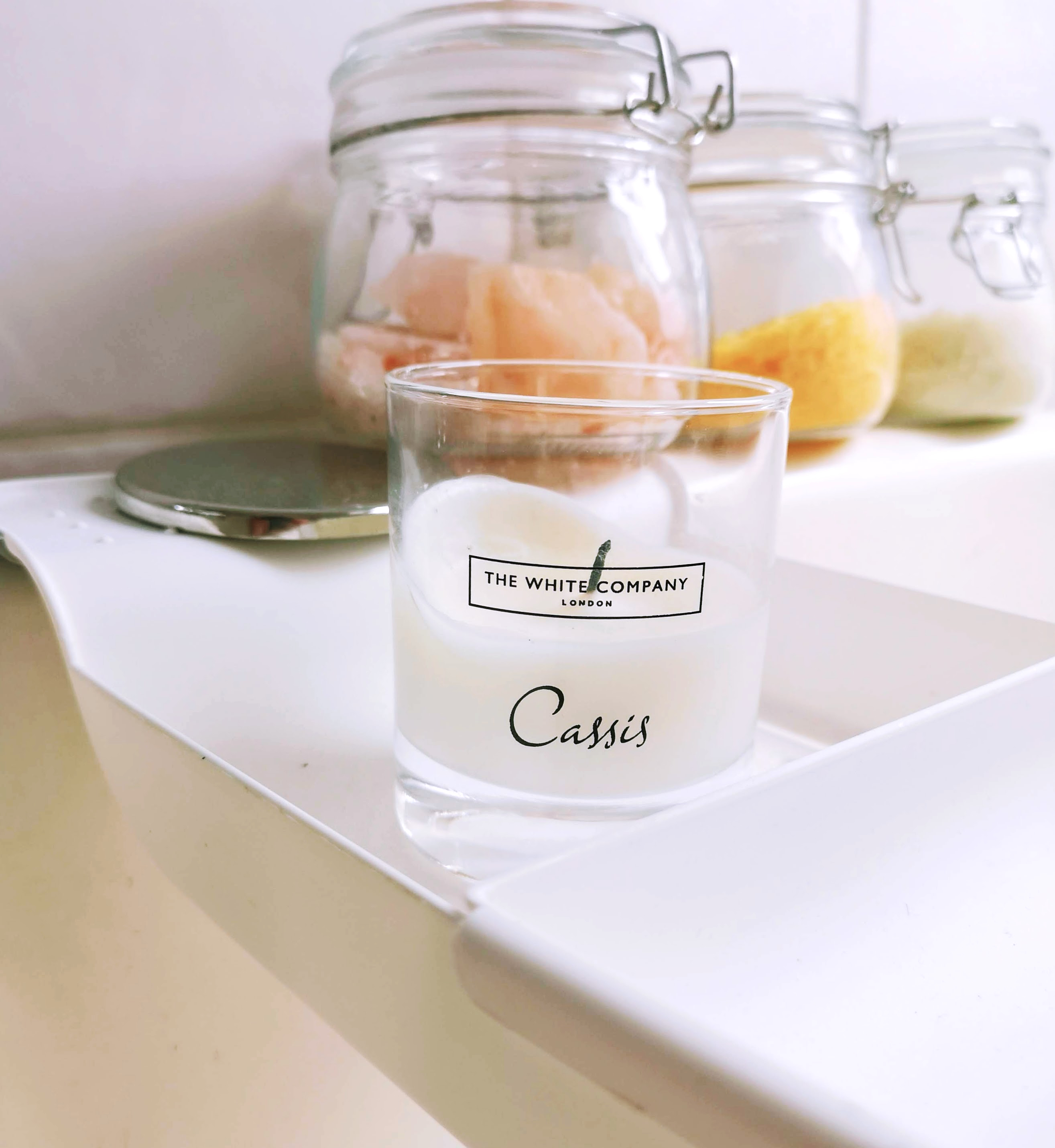 The White Company Cassis Candle